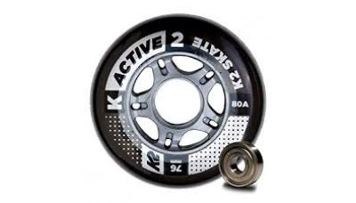 K2 Speed Formula Wheels 76mm With Bearings