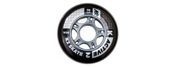 K2 Active Formula Wheels 76mm Without Bearings