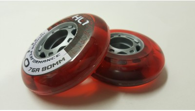 Bauer Indoor Wheels 80mm