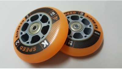 K2 Speed Formula Wheels 90mm With Bearings