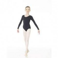 Mondor Leotard 26240 - Long Sleeve cotton - Studio 55