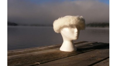Halo Ice Rabbit Faux Fur head band