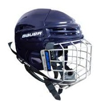 Bauer Helmet IMS 5.0 Combo -NAVY
