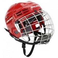 Bauer Helmet IMS 5.0 Combo - RED