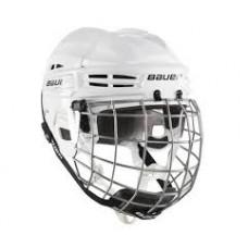 Bauer Helmet IMS 5.0 Combo - WHITE