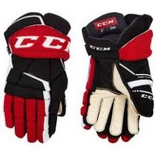 CCM Gloves - Tacks 9060 Black/Red/White (Senior)