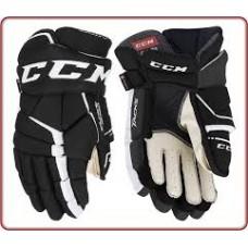 CCM Gloves - Tacks 9060 Black/White (Senior)