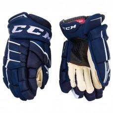 CCM Gloves - JETSPEED FT390 (Senior) Navy/White