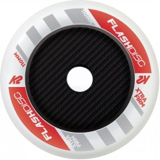 K2 Wheels 110mm Flashdisk White (1unit) without bearings