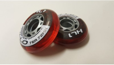 Bauer Indoor Wheels 72mm