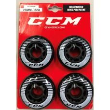 CCM Wheels 76mm (4pk) Outdoor Hockey