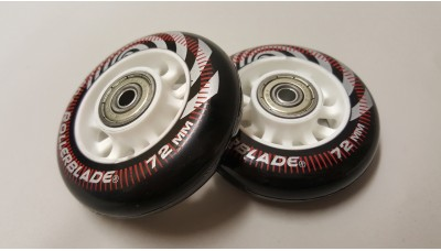 Rollerblade Neutro Wheels 72mm With Bearings