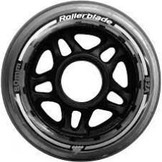 Rollerblade Wheels 80mm With SG7 Bearings (8pk) 8mm