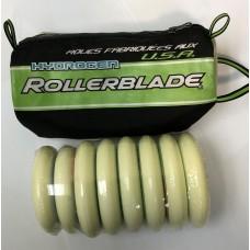 Rollerblade Wheels Hydrogen 6/110mm + 2/100mm 85A (8pk) No Bearings
