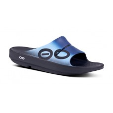 Oofos OOahh Sport Slide Sandal - Azul