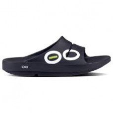 Oofos OOahh Sport Slide Sandal - Black