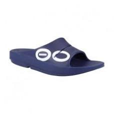 Oofos OOahh Sport Slide Sandal - Navy