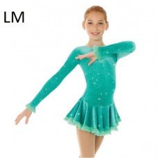 Mondor Dress 2739 Born to Skate with Mesh Detail