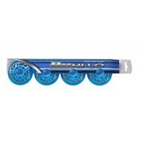 Bauer Wheels Hi-Lo Court  76mm - Clear Blue