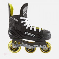 Bauer RH RS roller hockey skates YTH