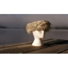 Halo brand Luxury Faux Fur Ice head band