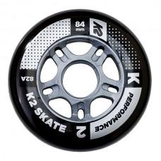 K2 Wheels 84mm Performance (4pk) without bearings