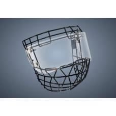 Powertek V5.0 Ringette Cage Visor