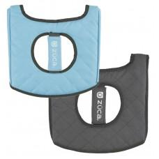 ZÜCA Seat Cushion Gray/Gloss Blue