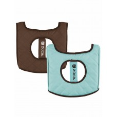 ZÜCA Seat Cushion Turquoise/Brown