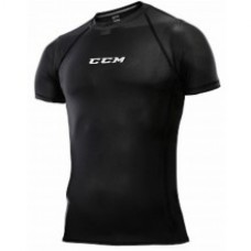 CCM Short Sleeve Performance Compression Top Mens