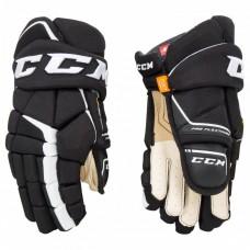 CCM Gloves - Super Tacks AS1 (Senior) Black/White