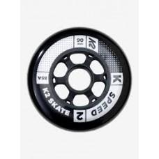 K2 Wheels 90mm Speed (4pk) without bearings